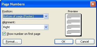 Hướng dẫn cách đánh số trang trong Microsoft word 2003 2007 2010 từ trang bất kỳ bỏ trang đầu