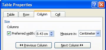Các thao tác cơ bản với Word 2003 (Phần 8)
